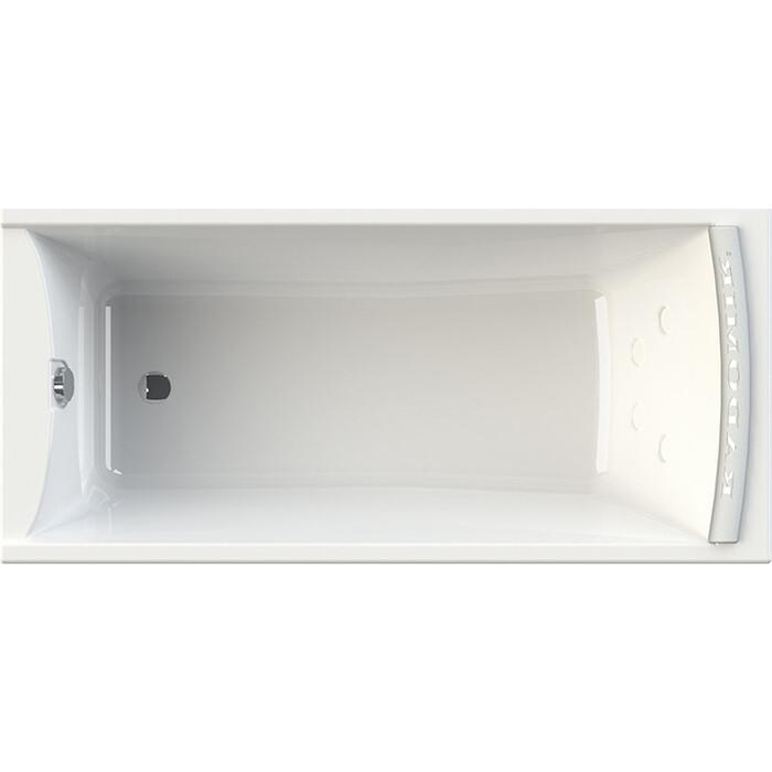 Акриловая ванна Radomir Вега 168х78 левая, с каркасом, фронтальной панелью, подголовником, сливом-переливом (1-01-2-1-1-023К)