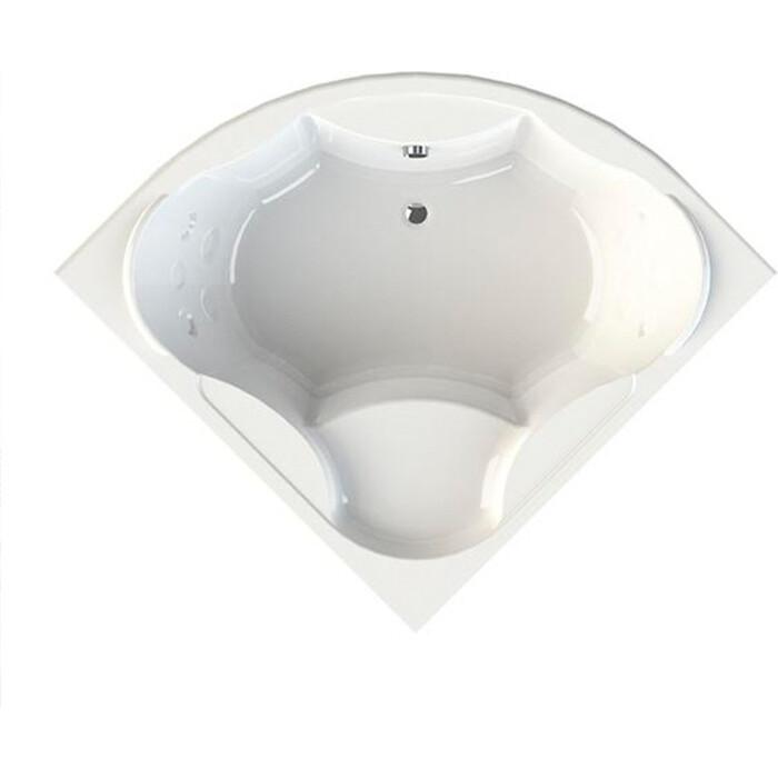 Акриловая ванна Radomir Верона 149х149 с каркасом, фронтальной панелью, сливом-переливом (1-01-2-0-1-024К)