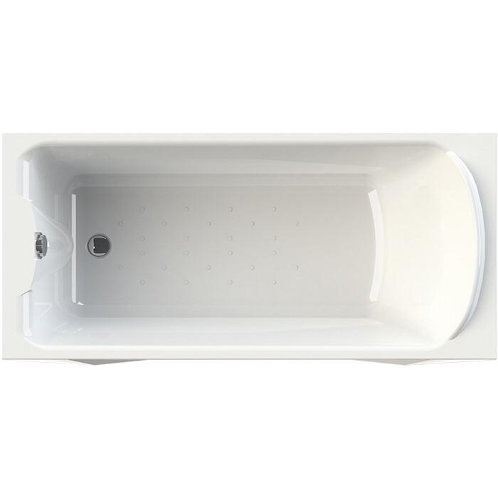 Акриловая ванна Radomir Ларедо 168х78 с каркасом, фронтальной панелью, сливом-переливом (1-01-2-0-9-027К)