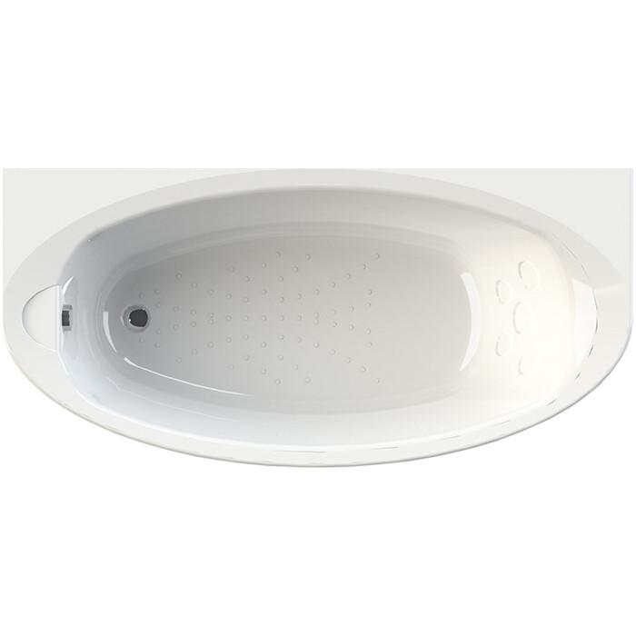 Акриловая ванна Radomir Неаполи 180х85 с каркасом, фронтальной панелью, сливом-переливом (1-01-2-0-1-031К)