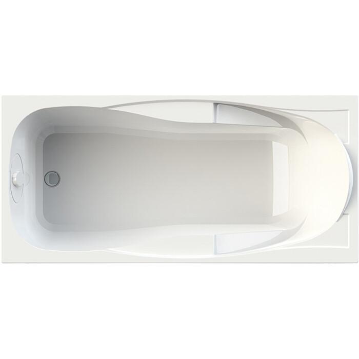 Акриловая ванна Radomir Парма-дона 180х85 левая, с каркасом, фронтальной панелью, сливом-переливом (1-01-2-1-9-035К)