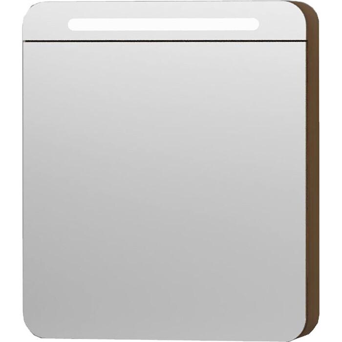 Шкаф-зеркало Vitra Nest 60 L с подсветкой, натуральный древесный (56172)