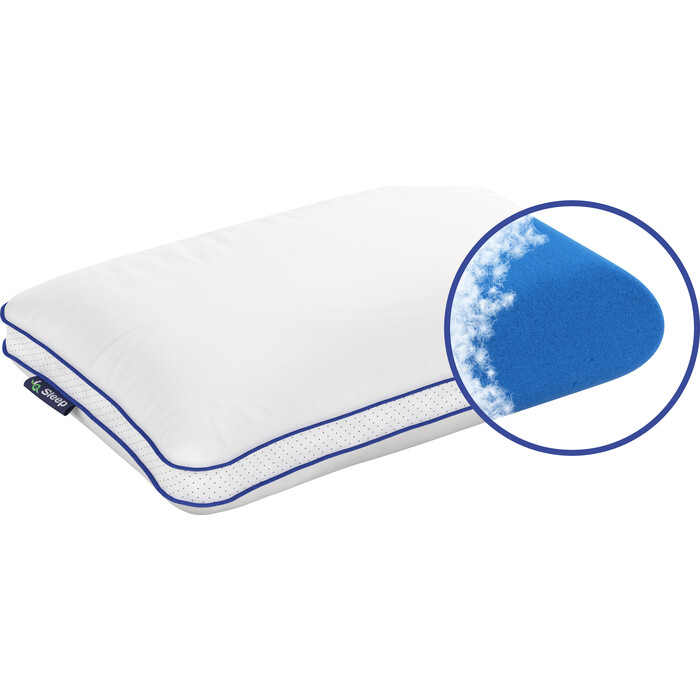 Подушка с чехлом IQ Sleep Vita (Ай Кью Вита) 34x59x16 (пух)