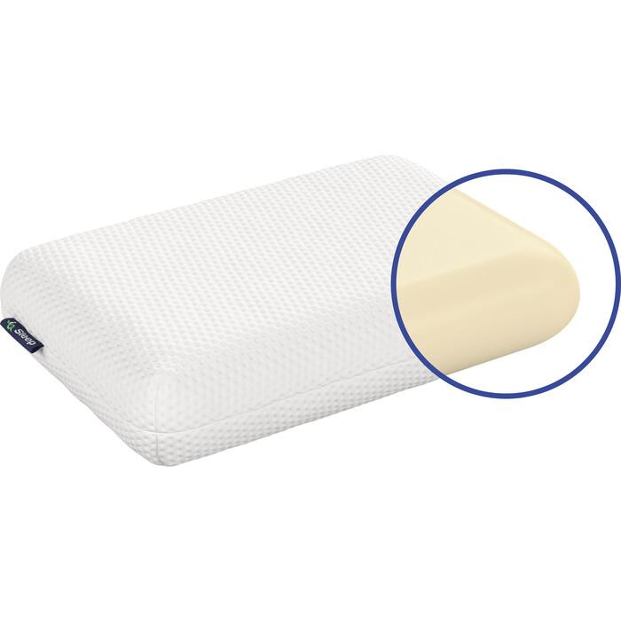 Подушка с чехлом IQ Sleep Orto Classica (Орто Классика) 40x60 подушка с чехлом iq sleep orto fitness орто фитнес 39x59
