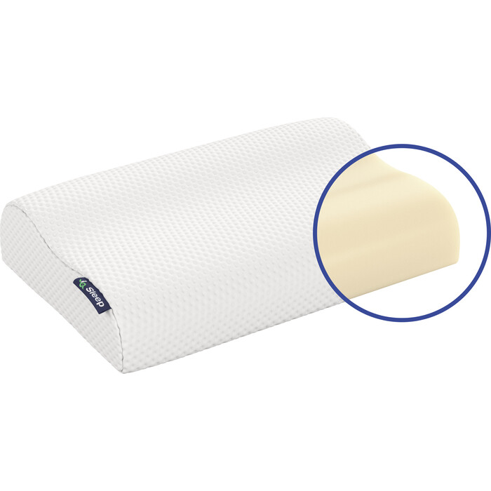 Подушка с чехлом IQ Sleep Orto Fitness (Орто Фитнес) 39x59