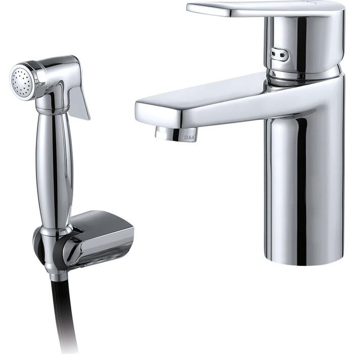 Фото - Смеситель для раковины D&K Rhein-Lessing с гигиеническим душем (DA1322601) rhein lessing da1313701a04