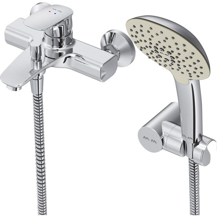 Смеситель для ванны Am.Pm Spirit V2.1 с душем, хром (F71A15000)