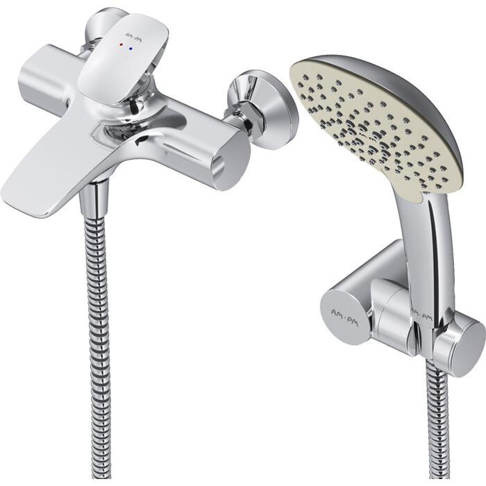 Смеситель для ванны Am.Pm Spirit V2.0 с душем, хром (F70A15000)