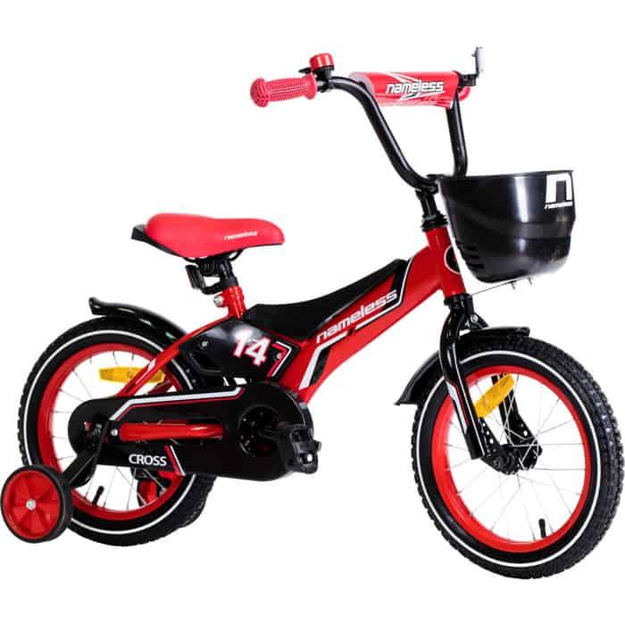 Велосипед Nameless CROSS, красный/черный