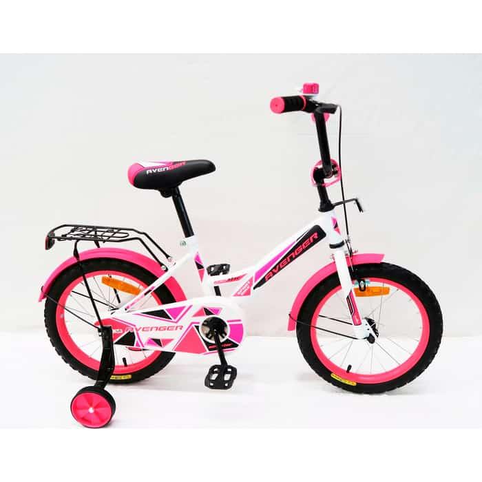 Велосипед AVENGER NEW STAR, белый/розовый
