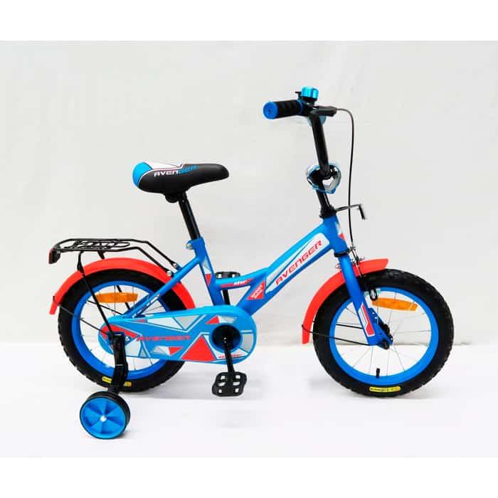 Велосипед AVENGER NEW STAR, голубой/красный