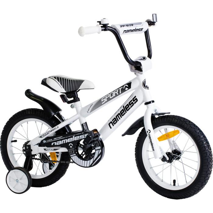 Велосипед Nameless SPORT, белый/черный