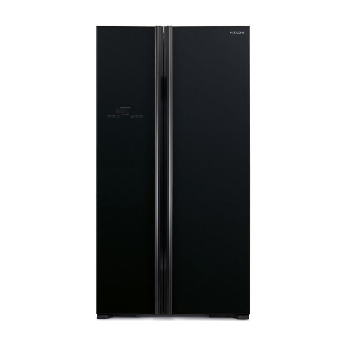 Холодильник Hitachi R-S 702 PU2 GBK холодильник side by side hitachi r s 702 gpu2 gs