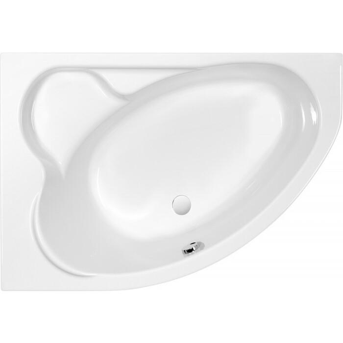 Акриловая ванна Cersanit Kaliope 153x100 левая, ультра белая (WA-KALIOPE*153-L-W)