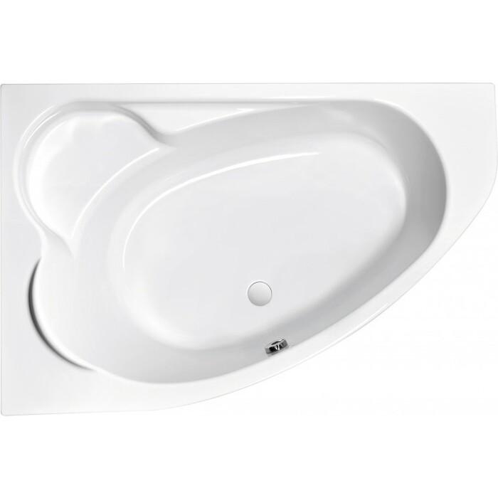 Акриловая ванна Cersanit Kaliope 170x110 левая, ультра белая (WA-KALIOPE*170-L-W)