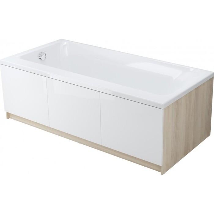 Акриловая ванна Cersanit Smart 170x80 правая, ультра белая (WP-SMART*170-R-W)