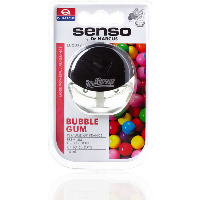Ароматизатор автомобильный Dr.Marcus Senso Luxury Бабл гам Bubble Gum