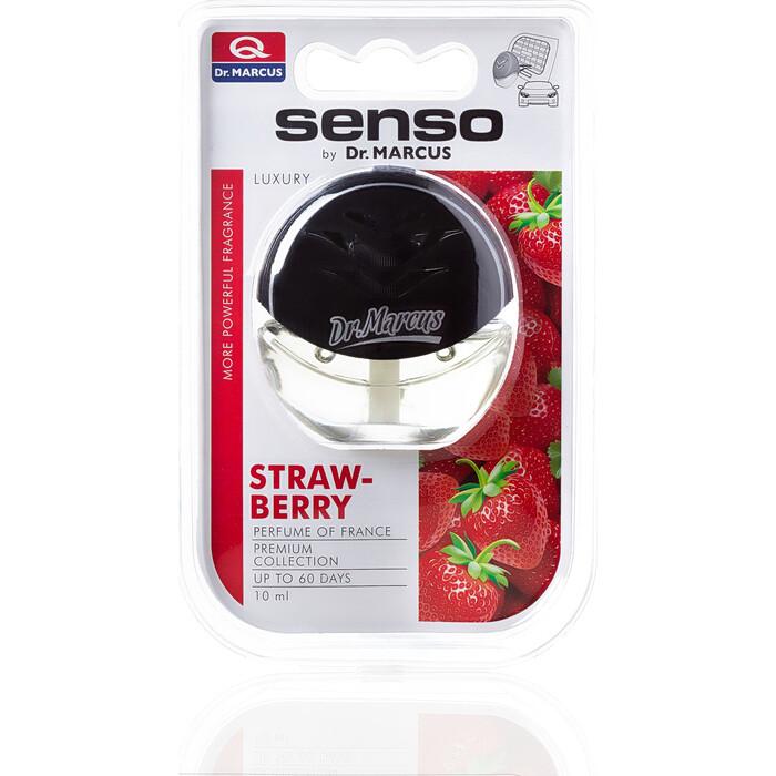 Ароматизатор автомобильный Dr.Marcus Senso Luxury Клубника Strawberry