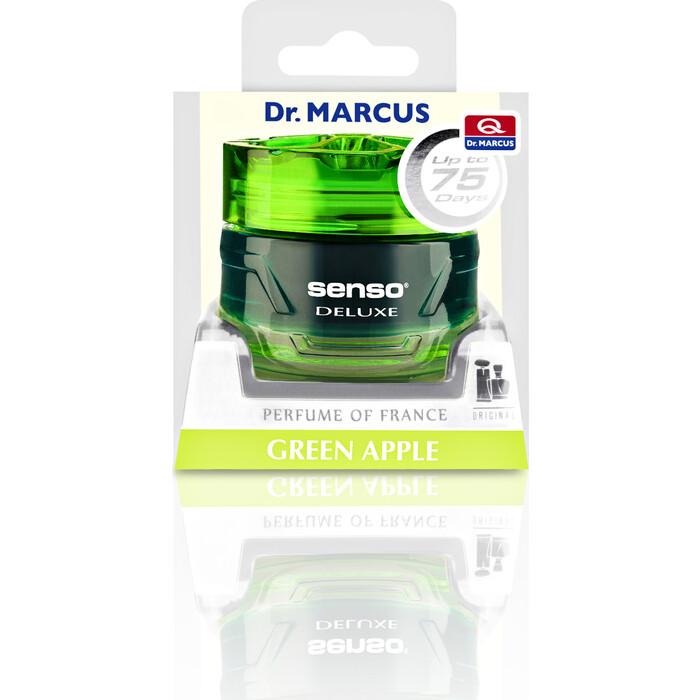 Ароматизатор автомобильный Dr.Marcus Senso Deluxe Зеленое яблоко Green Apple