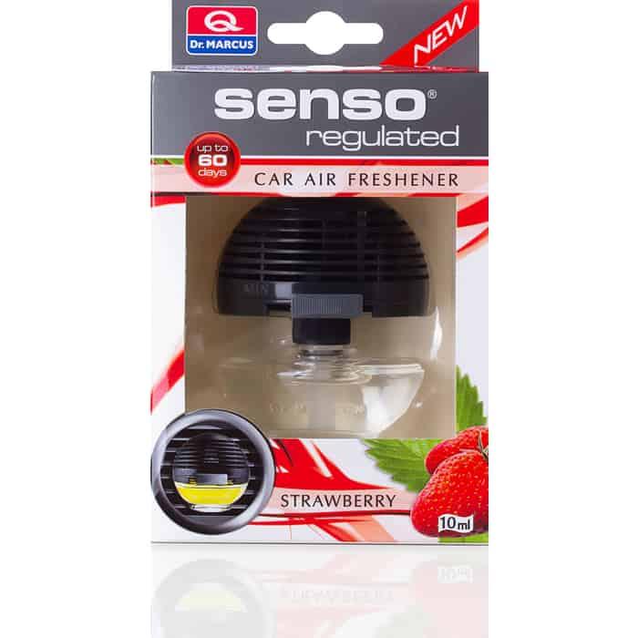 Ароматизатор автомобильный Dr.Marcus Senso Regulated Клубника Strawberry