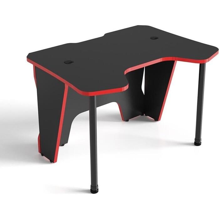 Стол TetChair Strike-2 черно-красный/ black-red