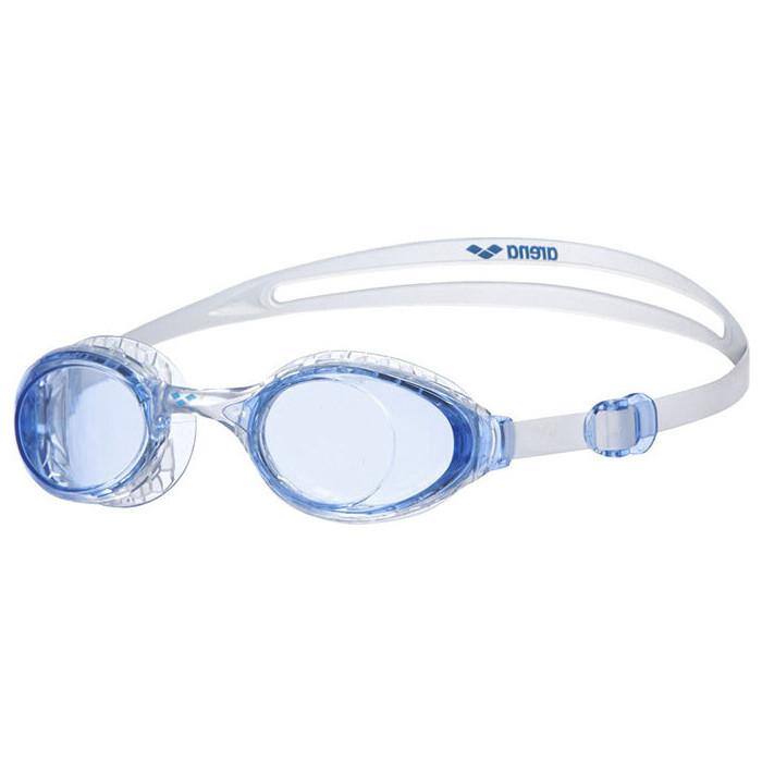 Очки для плавания Arena Airsoft арт. 003149707, голубые линзы, нерег.перен., голубая оправа