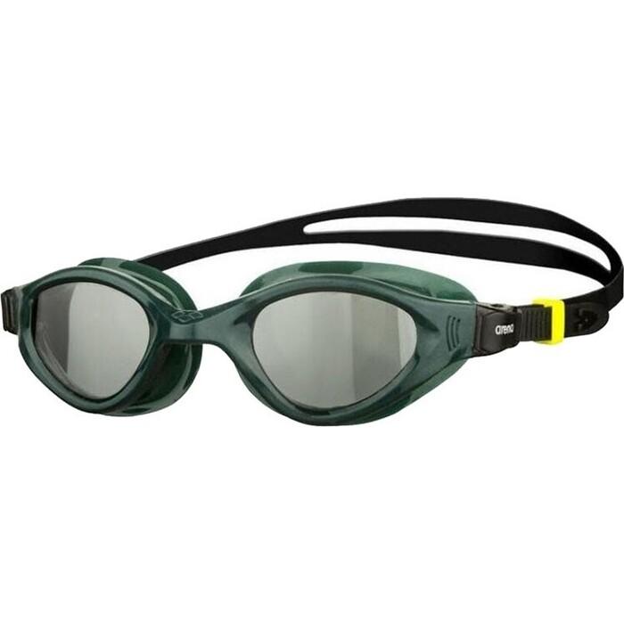 Очки для плавания Arena Cruiser Evo арт. 002509565, дымчатые линзы, нерег.перен., зеленая оправа