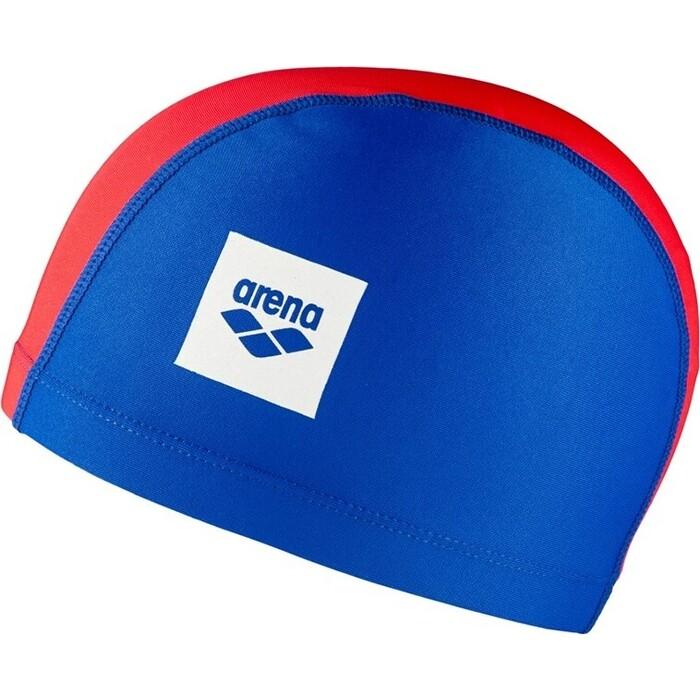 Шапочка для плавания Arena Unix Ii Jr Дет, арт. 002384104, сине-Красный, полиамид/эласт, 3 панели