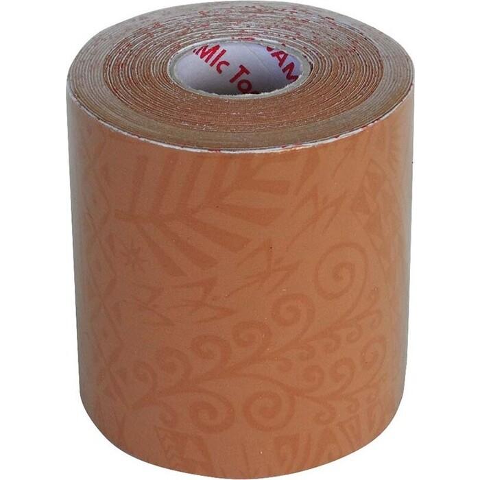 Тейп динамический Dynamic Tape Tape, арт. DT75PL, шир. 7,5 см, дл. 5 м, телесный/светл. тату