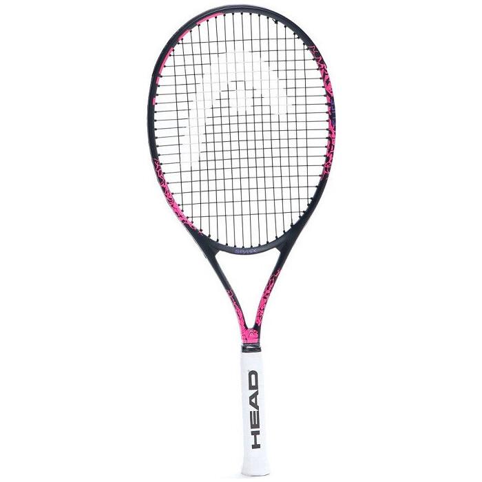 Ракетка для большого тенниса Head MX Spark Elite Gr3, арт. 233340, любителей, композит,со струнами,черно-розовый