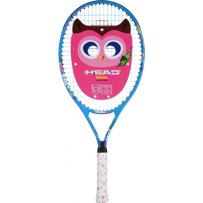 Ракетка для большого тенниса Head Maria 25 Gr07, арт. 233400, дет. 8-10лет, алюминий,со струнами,син-бело-розовый
