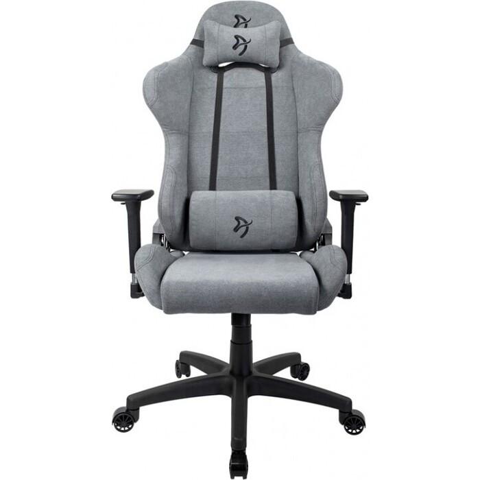 Компьютерное кресло Arozzi Torretta soft fabric ash TORRETTA-SFB-ASH