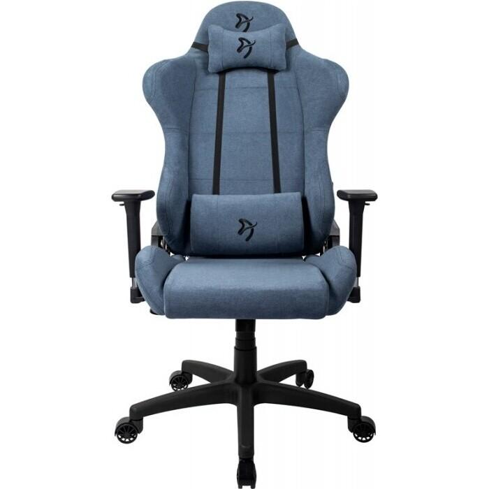 Компьютерное кресло Arozzi Torretta soft fabric blue TORRETTA-SFB-BL