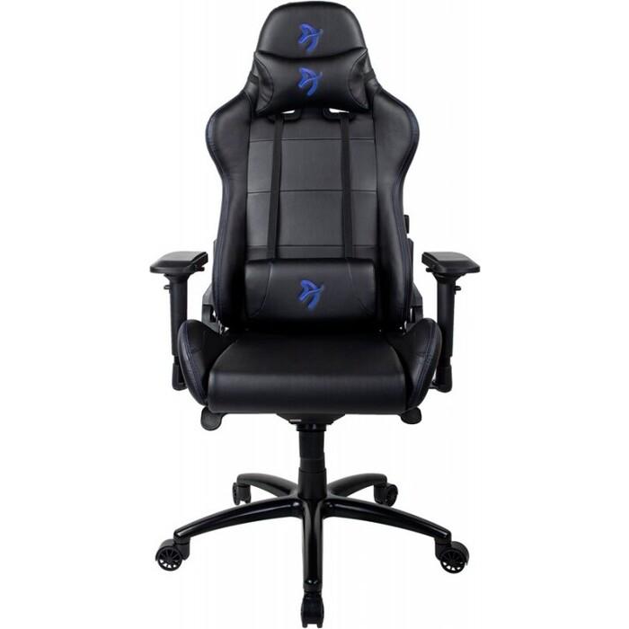 Компьютерное кресло Arozzi Verona signature black PU blue logo VERONA-SIG-PU-BL