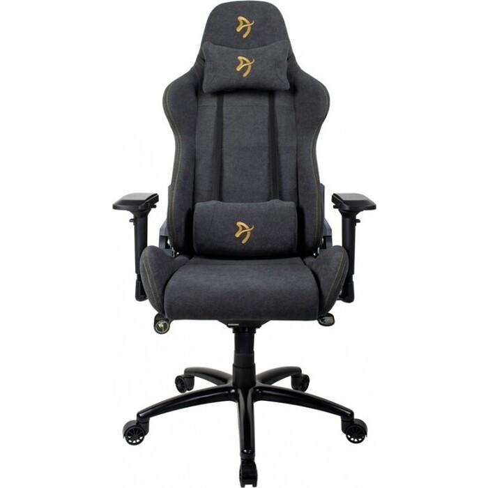 Компьютерное кресло Arozzi Verona signature soft fabric gold logo VERONA-SIG-SFB-GD
