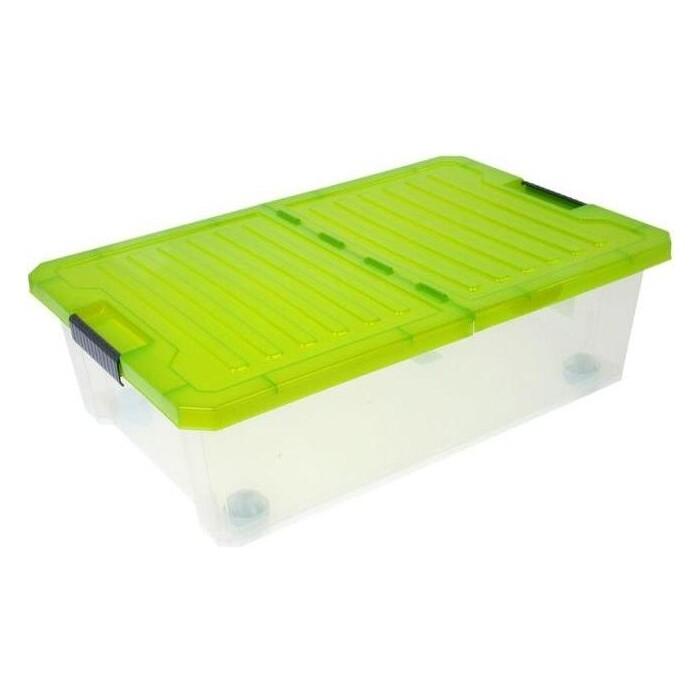 Ящик для хранения Plast Team BRANQ Unibox 30л на роликах