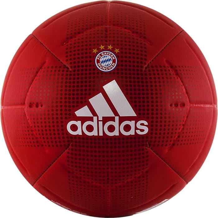 Мяч футбольный Adidas FCB Club арт. GH0062, р. 5, 2 пан, ТПУ, маш.сш., красно-белый