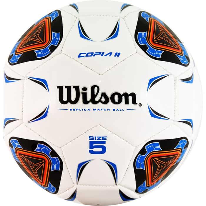 Мяч футбольный Wilson Copia II арт. WTE9210XB05 р. 5, 30п, гл. TPU, 1подкл. сл.,маш.сш.,бело-сине-красный