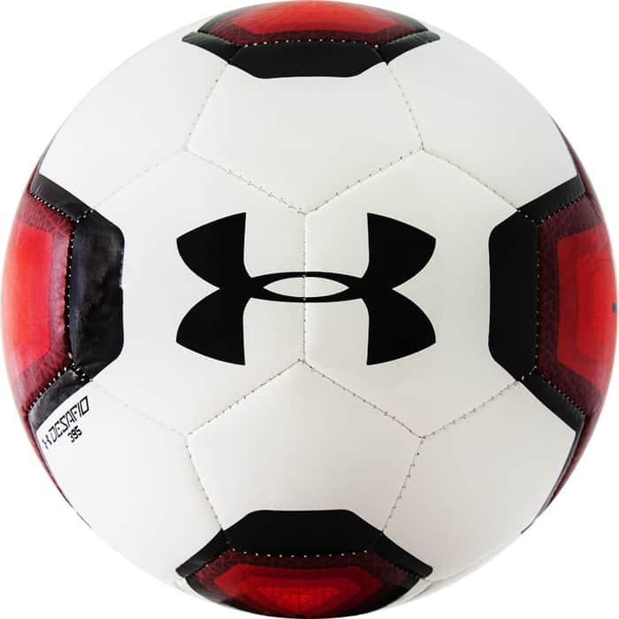 Мяч футбольный Under Armour Desafio 395 арт. 1297242-601, р. 5, 32 пан, гл. ТПУ, маш.сш, бел-красн-черн