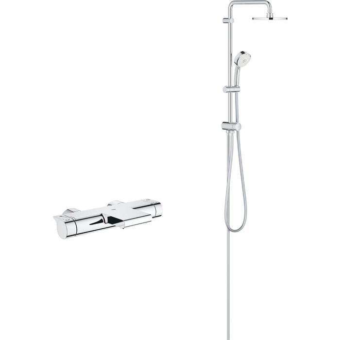 Термостат для ванны Grohe Grohtherm 2000 с душевым гарнитуром, хром (34174001, 27394002)