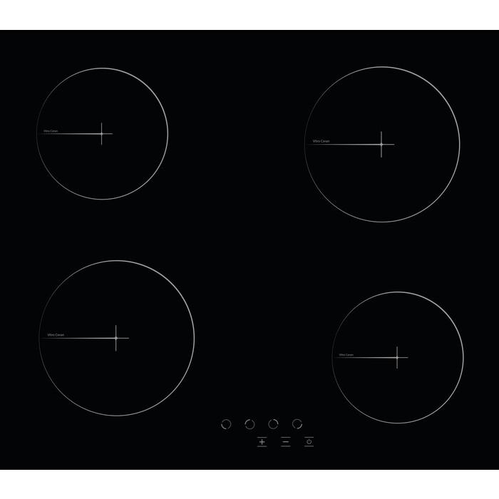 Электрическая варочная панель Simfer H60D14B020