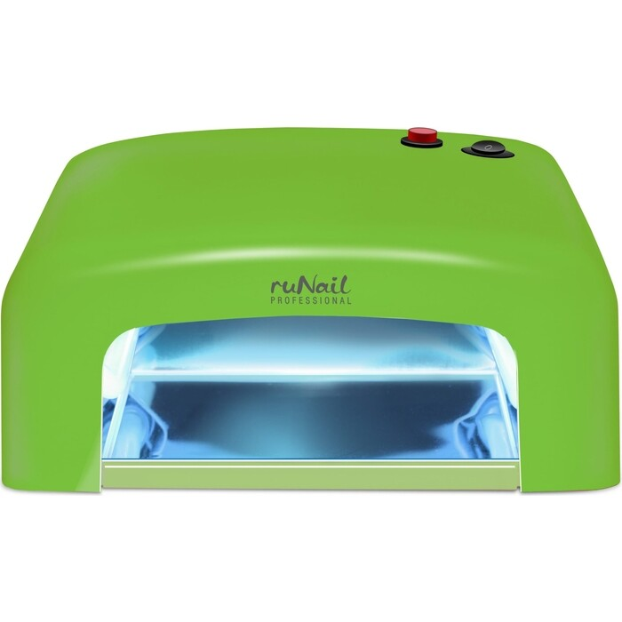 Лампа для маникюра UV Runail GL-515 зеленый