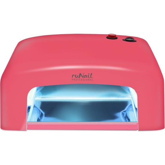 Лампа для маникюра UV Runail GL-515 красный