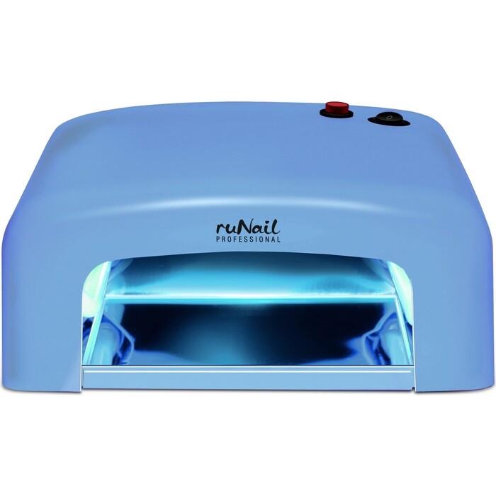 Лампа для маникюра UV Runail GL-515 синий