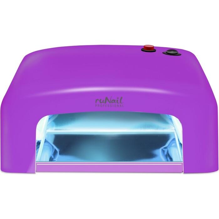 Лампа для маникюра UV Runail GL-515 фиолетовый