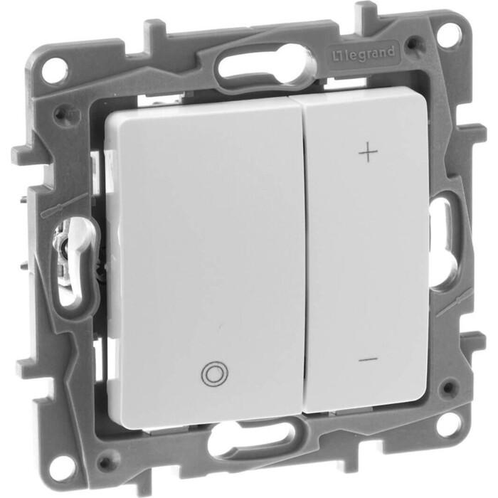 Диммер Legrand кнопочный Etika без нейтрали 400W белый 672218