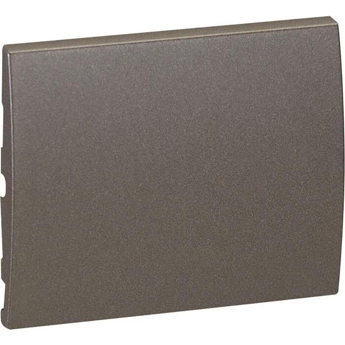 Лицевая панель Legrand Galea Life выключателя одноклавишного темная бронза 771210
