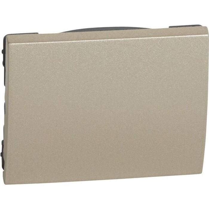 Лицевая панель Legrand Galea Life выключателя одноклавишного титановая 771410