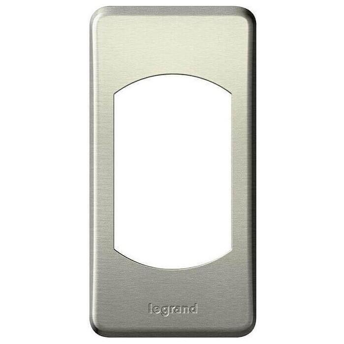 Рамка Legrand 1-постовая Celiane титан 068900