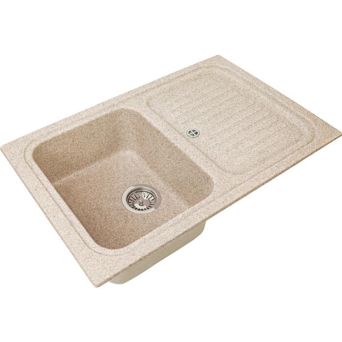 Кухонная мойка Granstones GS-78 песочная (GS-78-302)